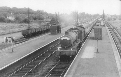 magor station 1959