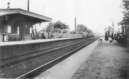 magor station 1910